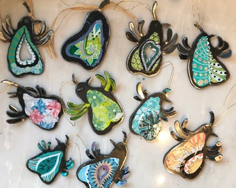 Handmade Christmas Ornaments!