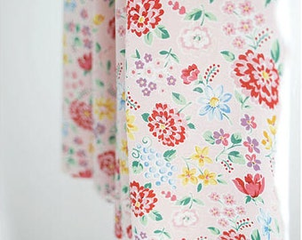 Cotton Floral Fabric Heidi - Pink - By the Yard 39444