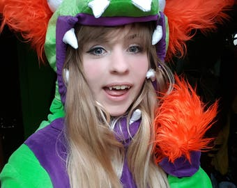 League of Legends Dino Gnar Cosplay