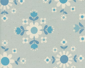 Florametry Ice  from the Welsummer collection by Kim Kight for Cotton + Steel 3057-02