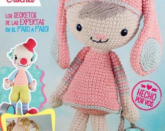 Amigurumi Pattern, Crochet Doll Pattern, Crochet Toys Pattern,Vintage Crochet Pattern ebook / PDF-instant download
