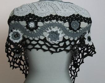 Original OOAK Crocheted Scarf