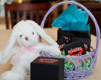 Easter basket stuffers for adults etsy kisses 4 us gift basket stuffer easter gift for him easter gift for negle Images