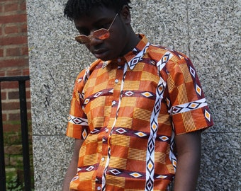 African Print Shirts