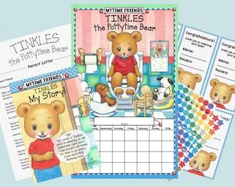 Tinkles the Pottytime Bear, Potty Training Chart Set