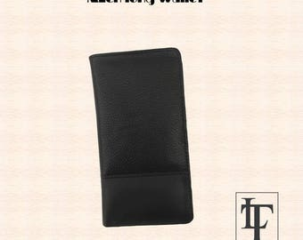 Genuine Cow leather Long Wallet