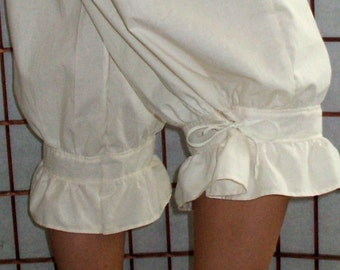 Victorian Gothic Bloomers 2X-5X Pantaloons Womens Plus Sizes Custom Made