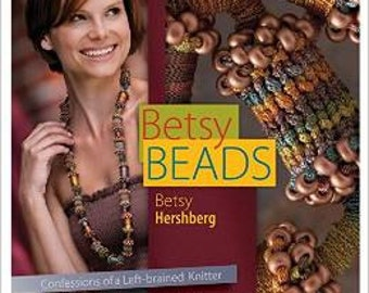 Betsy BeadsBooks full of knitted jewelry patterns and much more
