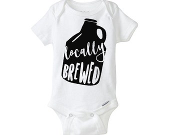 LOCALLY BREWED Onesie