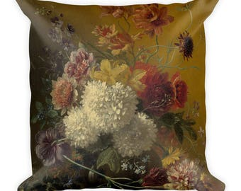 Cushion-Still Life with flowers by G.J.J. from ox-square 45 cm