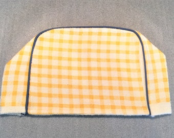 YELLOW PLAID 2 Slice Toaster Cover, Appliance Cover, Toaster Cozy, Appliance Cozy, Mother's day gift, housewarming gift, #toaster cover