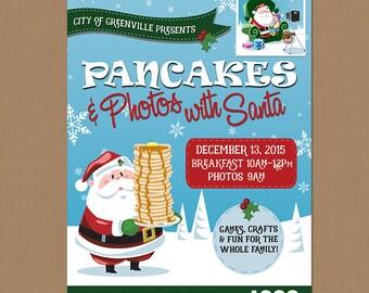 breakfast fundraiser flyer template