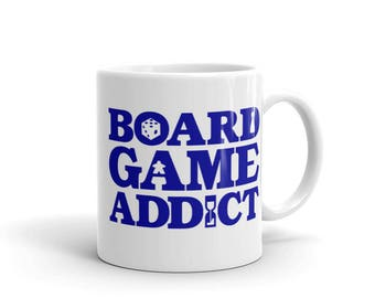Board Game Addict Mug