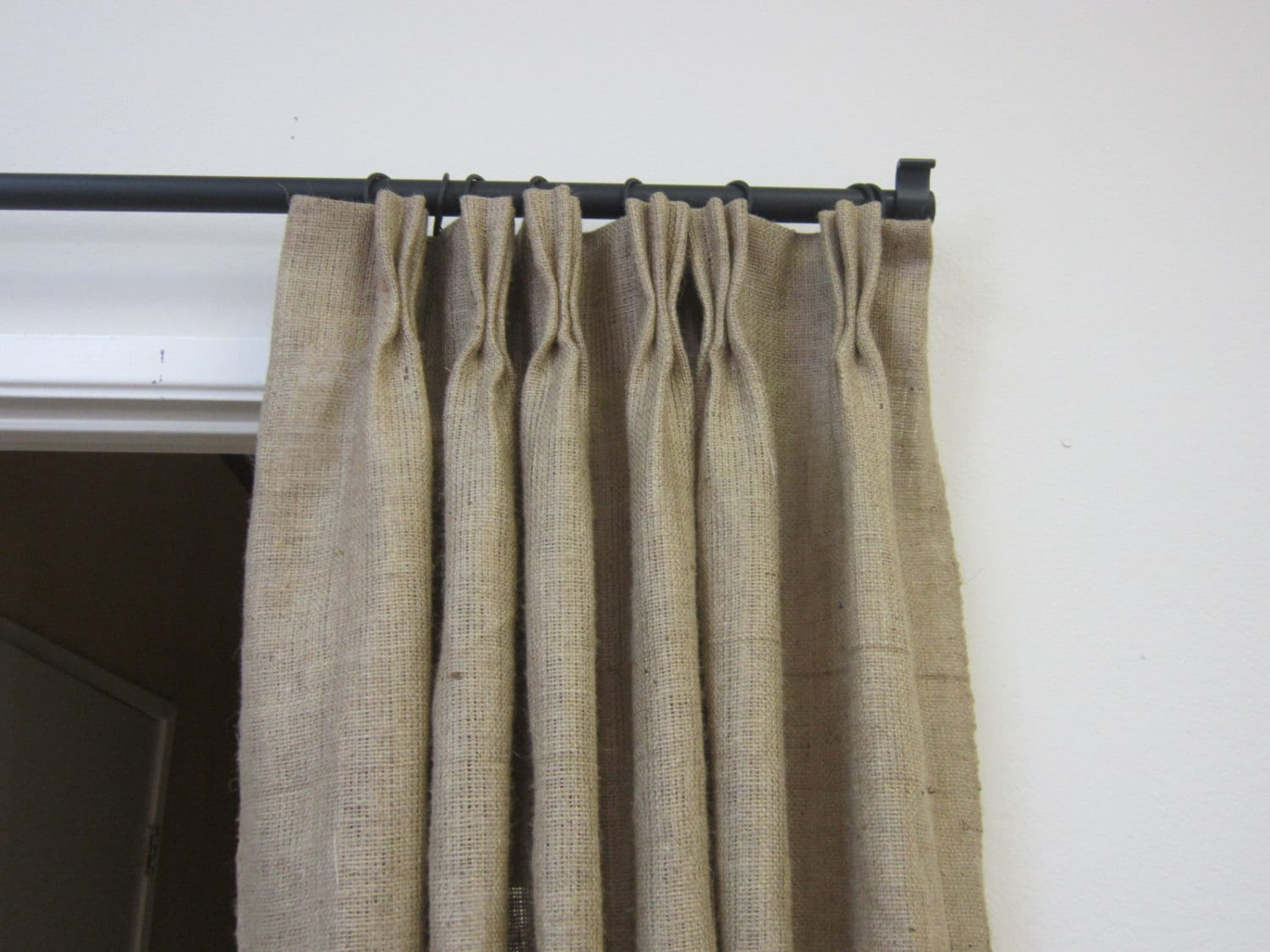 how to use buckram in curtains