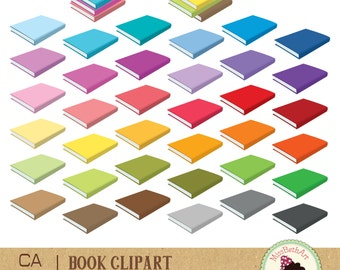 Books Clipart - Instant Download