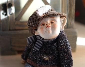 OOAK handmade art doll, Handmade doll, Figurine, doll, Soft sculpture, Art Dolls
