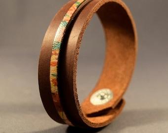 Leather Cuff-Leather Bracelet-Cuff Bracelet-Wrist Cuff-Women's Bracelet-Wristband-Friendship Bracelet-Gifts-Friendship Gift-Bangle Bracelet