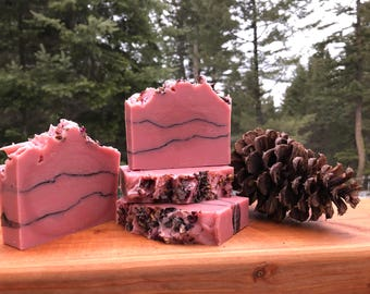 Rose Clay & Charcoal Cold Process Soap
