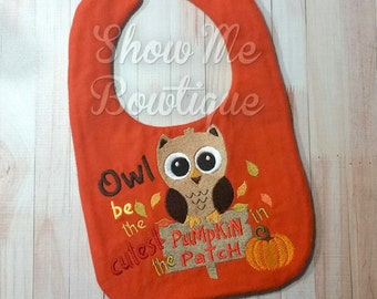 Owl be the cutest Pumpkin in the Patch