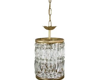 Crystal chandelier Etsy
