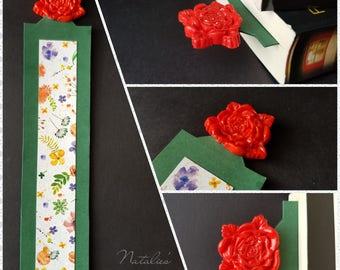 Rose Bookmark