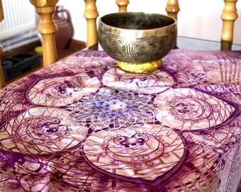 Veil tapestry of Inda's Net 70 x 70 cm