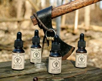 Premium Viking Beard Oil - Berserker: The Warrior