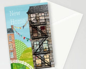 New Home A6 Greetings Card