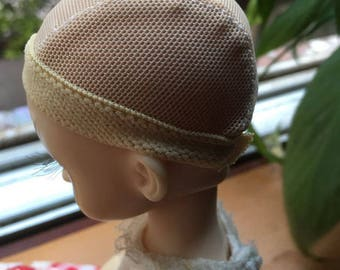 Beige/Black Hairnet For 1/3 1/4 1/6 1/8 1/12 BJD Blythe KURHN Barbie