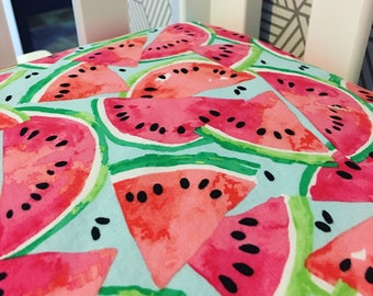 Watercolor Watermelon Crib Sheet