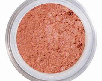 Blush Makeup, ANISE, Loose Mineral Blush, Natural Blush, Peach Blush, Mineral Blush, NARS Orgasm, Vegan Blush, Cruelty Free