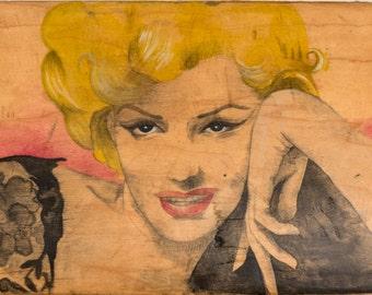 Marilyn - Colección Carmen Navarro Ilustración