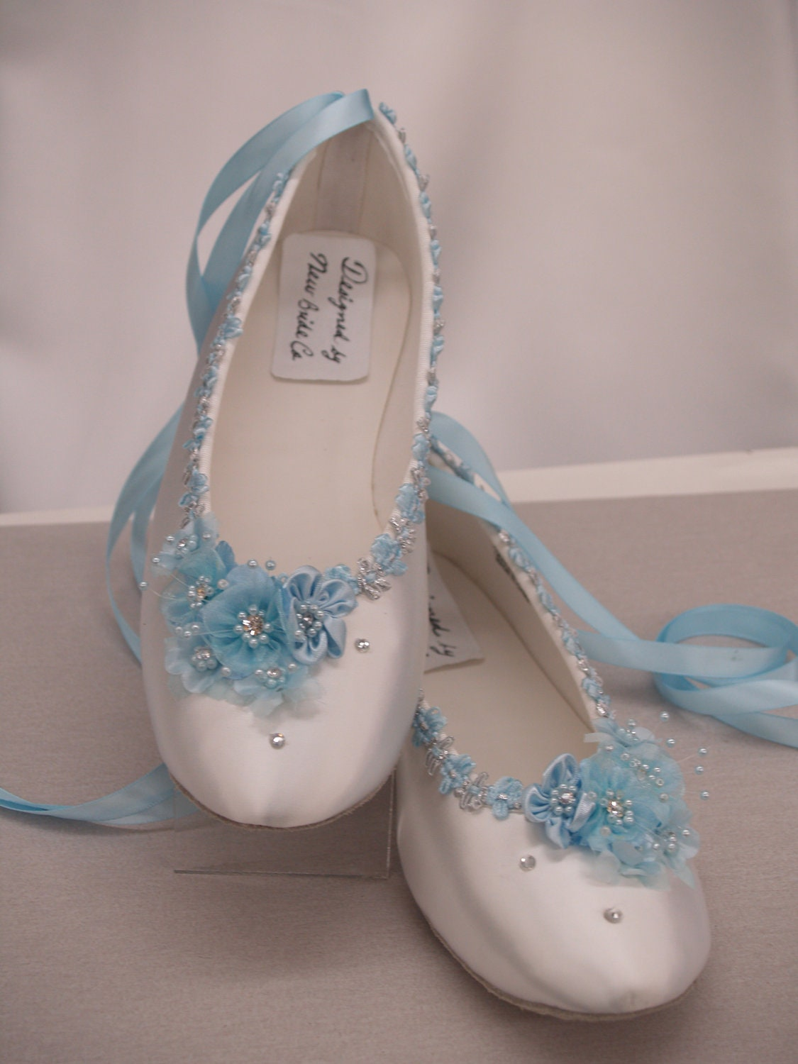 blue shoes wedding blue wedding flats white satin shoes blue bridal flat shoes 1945