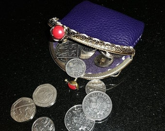 Design Your Own Hand Made Leather Coin Purse