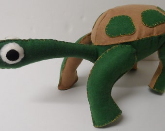 Timmy Tortoise Stuffed Animal Sewing Pattern Instant Download