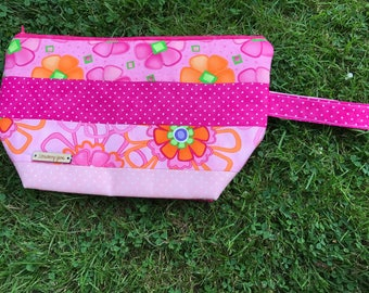 REDUCED - Pink Project Bag