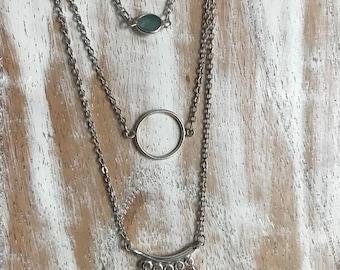 Tourmaline Layered Necklace