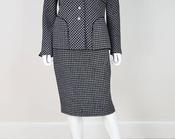 ESCADA COUTURE Vintage Skirt Suit (40)