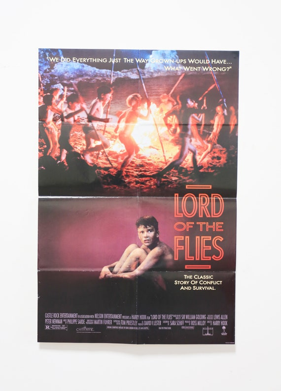 Original Theatrical One Sheet Film Poster - Lord of the Flies