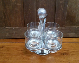 Vintage Westfield Spinning Sundae Condiment Caddy With Spoons