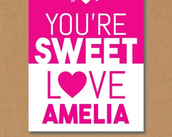Kids Valentine Cards, Valentines Day Cards for Kids, Printable Valentines Cards for Kids, Personalized Kids Valentines