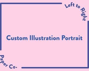 Custom Illustration Portrait