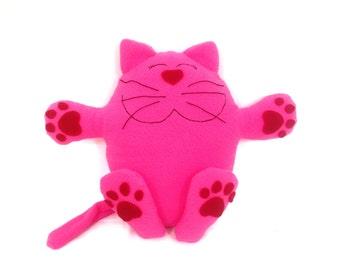 Cat Plush Pattern / Cat Sewing Pattern / Stories for Kids / Plushie Pattern / Animal Pattern /Softie Pattern / Plush Toy Pattern/Cat Pattern