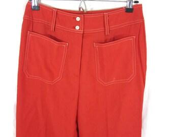 Vintage Madison Wide Leg Slacks Disco Pants Bell Bottoms