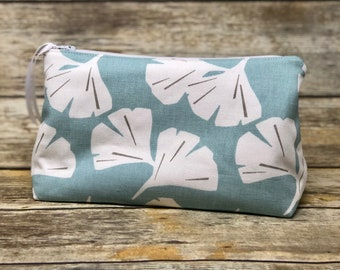 Large Cosmetic Bag | Twill Bag | Mothers Day Ready to Ship