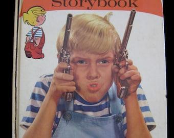 Vintage 1960 Dennis the Menace StoryBook Random House, vintage Children's book, vintage Random House, Dennis the Menace