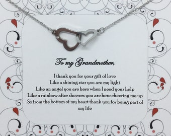 Mothers day gift - grandmother gift grandma necklace nana necklace nana gift gift for grandma gift necklace jewelry gift for her
