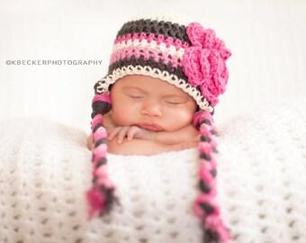 baby girls hat, newborn hat, little girls hat, baby girl hat, crochet , newborn girls hat, crochet kids hat, baby girl hat, girls hat