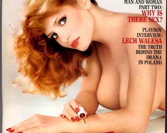 Playboy Magazine February 1982 with centerfold, Anne Marie Fox! Fantastic!