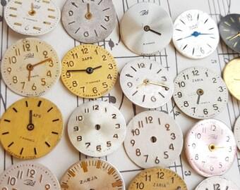 Dials Supplies Watch Faces Steampunk Watchs PartsWomen's Watchs Movements DIY 20pcs
